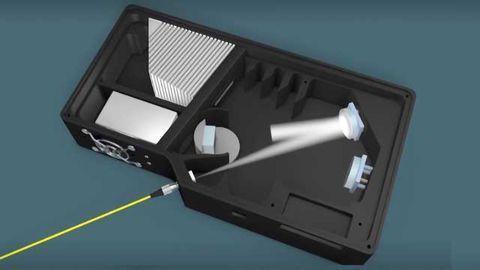 Inside a Spectrometer - Light's Journey Through the Optical Bench