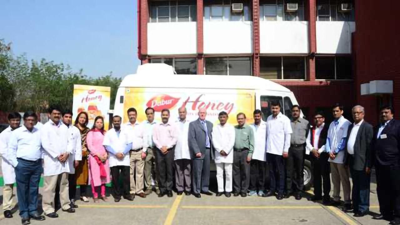 Dabur India Take Honey Testing on the Road