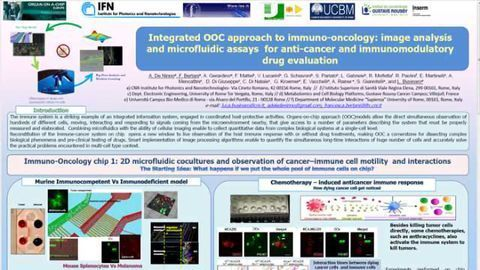 """Immunotherapy on Chip: """"Under the Microscope"""" Drug-induced Modulation of the Immune Response"""