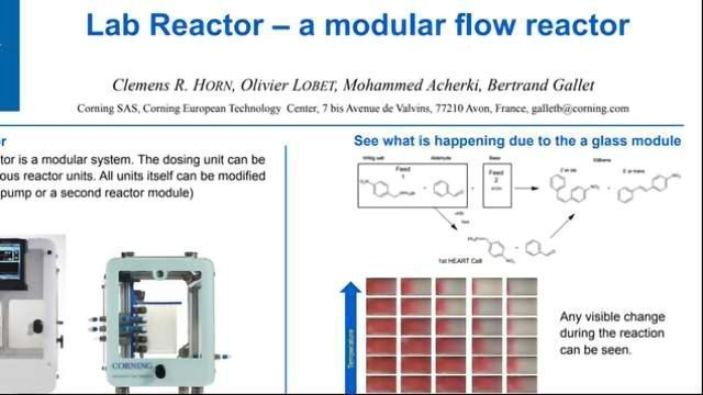 Lab Reactor – a modular flow reactor