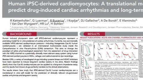 Human iPSC-derived cardiomyocytes: A translational model to predict drug-induced cardiac arrhythmias and long-term toxicity
