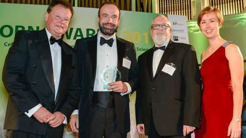 OBN Awards Crown Synpromics 'Best Emerging UK Synthetic Biotech Company'