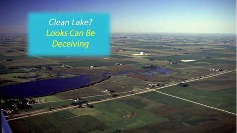 Clear lakes disguise impaired water quality