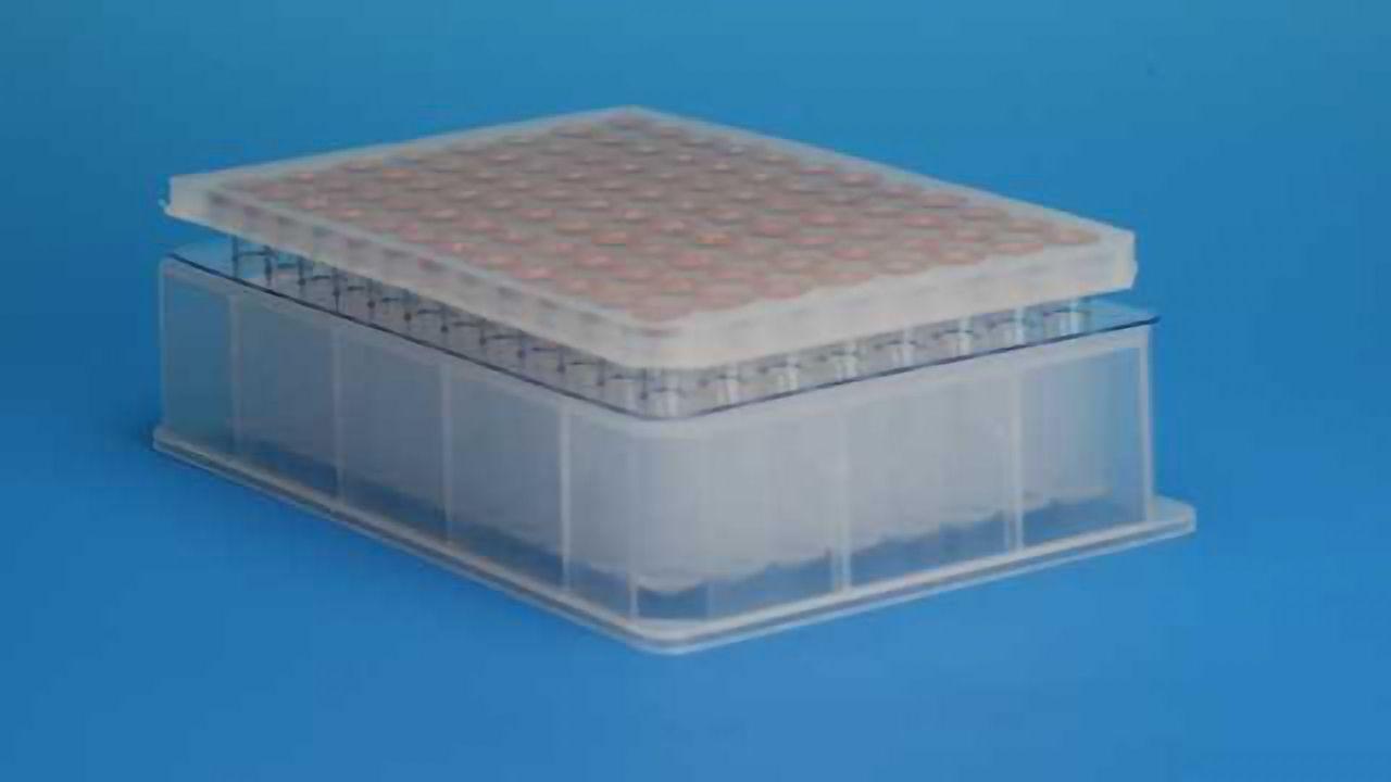 Chemically Resistant Pierceable Microplate Cap Mats