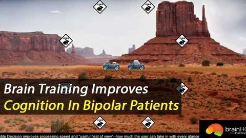 Brain Training Improves Cognition in Bipolar Patients