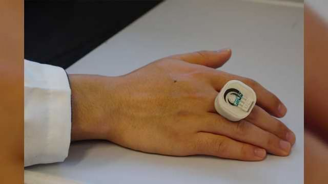 Chemical and Biological Threat Detector-on-a-Ring