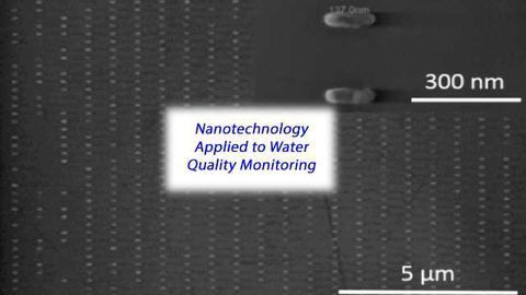 Nanoantenna Arrays That Could Aid Water Quality Monitoring