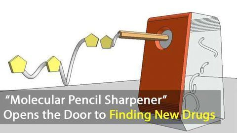"""""""Molecular Pencil Sharpener"""" Discovery Opens the Door to Finding New Drugs"""
