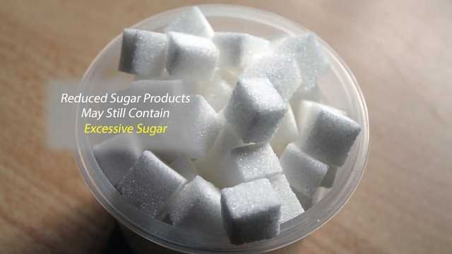 """""""Healthier"""" Groceries with Sugar-Related Nutrition Claims Still Contain Excess Sugar"""