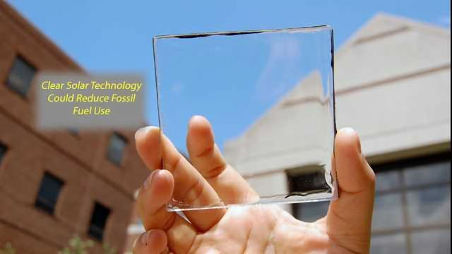 "Transparent Solar Technology Represents ""Wave of the Future"""
