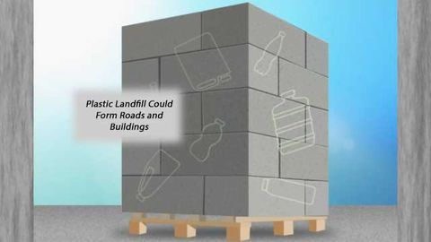Concrete Fortified by Adding Recycled Plastic