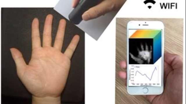 Wireless Handheld Spectrometer Holds Promise for Remote Medical Diagnostics