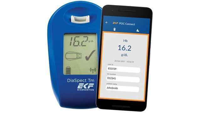 EKF Introduces Mobile Data Management Solution for the DiaSpect Tm POC Hemoglobin Analyzer
