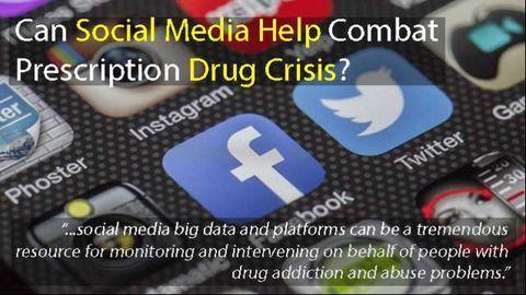 Big Data From Social Media Helps Combat Prescription Drug Crisis