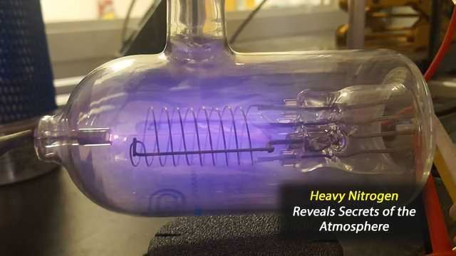 Heavy Nitrogen Molecules Reveal Planetary-Scale Tug-of-War