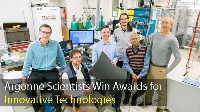 Argonne Scientists Receive Several R&D 100 Awards for Innovative Technologies