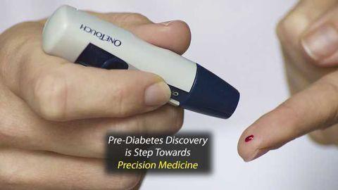 Pre-Diabetes Discovery Marks Step Towards Precision Medicine