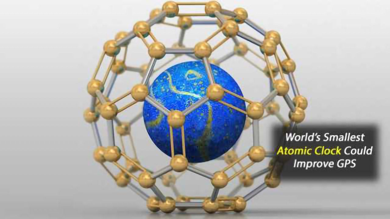 To Build the World's Smallest Atomic Clock, Trap a Nitrogen Atom in a Carbon Cage