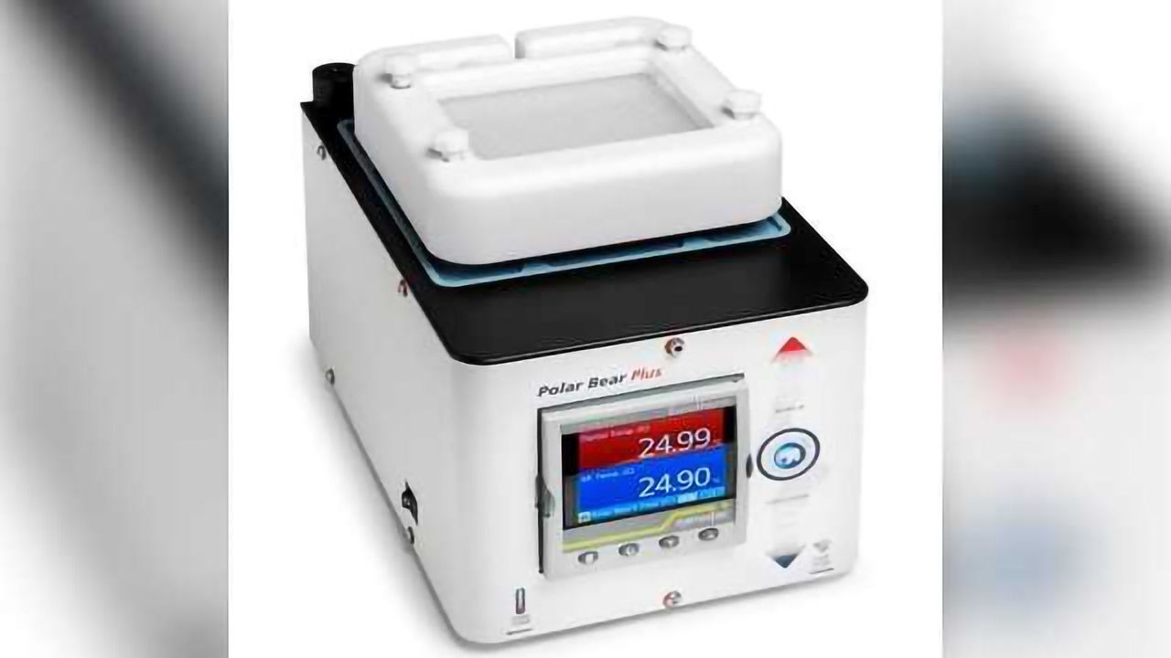 Polar Bear Plus GSM™ - Versatile heating and cooling module for Uniqsis glass static mixer/reactor blocks