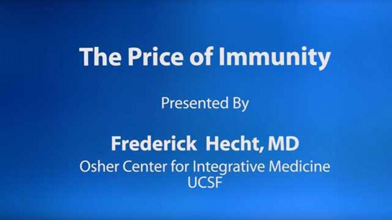 The Price of Immunity