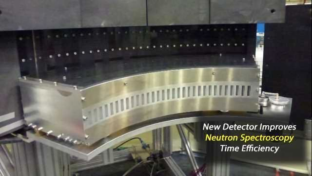 New Detector Module Will Help Scientists Maximise Neutron Spectroscopy Time