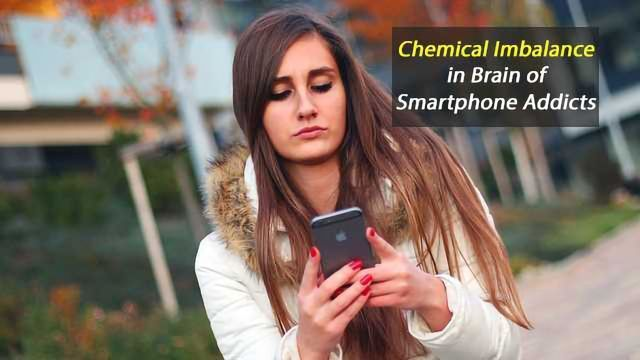 MRS Identifies Chemical Imbalance in Brains of Smartphone Addicted Youngsters