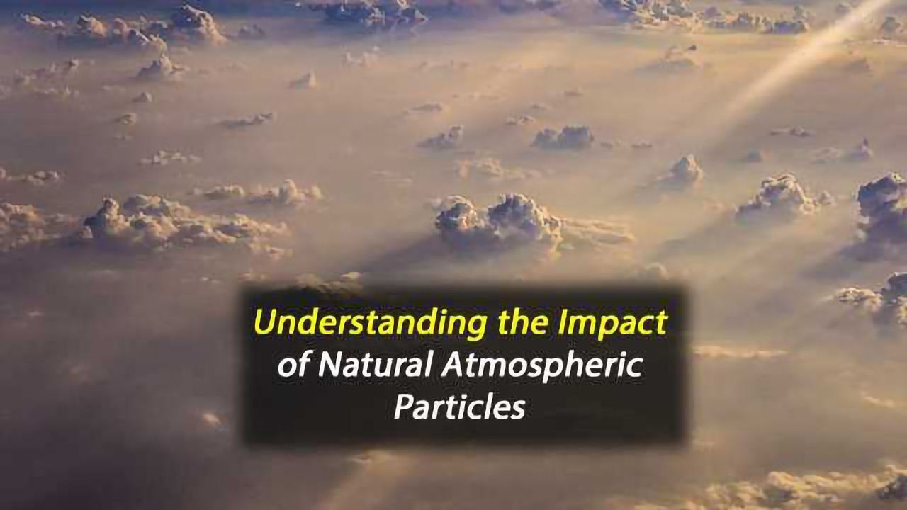 Understanding the Climate Impact of Natural Atmospheric Particles