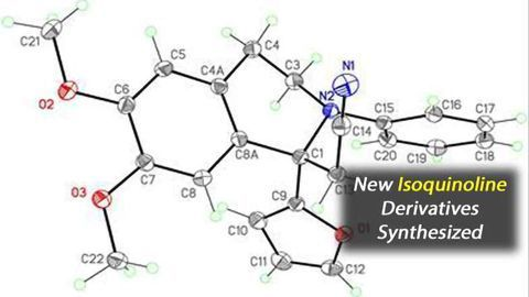 Chemists Have Synthesized New Isoquinoline Derivatives