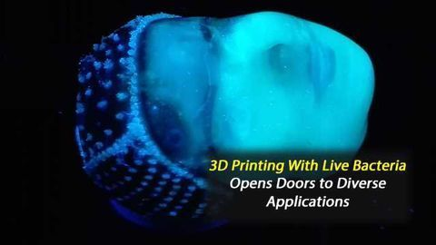 3D Printing With Live Bacteria Could Aid Toxin Disposal
