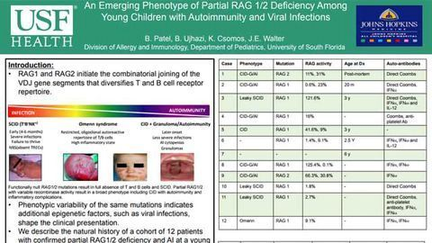 An Emerging Phenotype of Partial RAG 1/2 Deficiency Among Young Children with Autoimmunity and Viral Infections