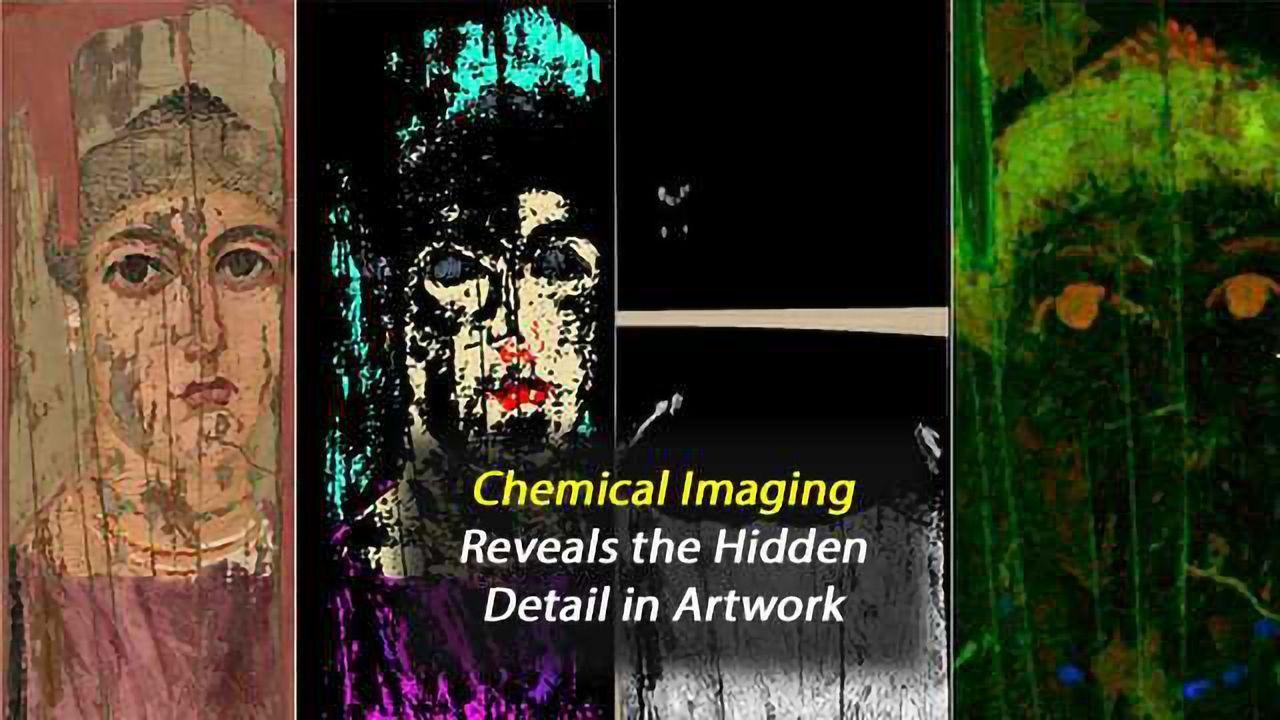 Chemical Imaging Reveals Details of Ancient Artwork