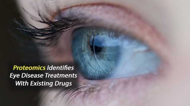 Protein Analysis Enables Treatment of Eye-Disease Symptoms with Existing Drugs