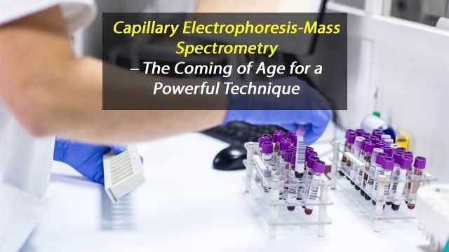 Capillary Electrophoresis-Mass Spectrometry – The Coming of Age for a Powerful Technique