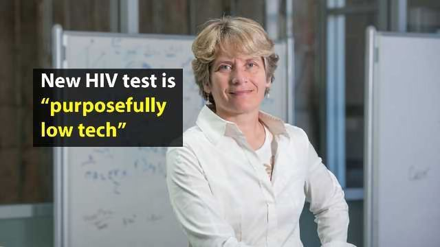 Hassle-free HIV Test Detects Infection Sooner