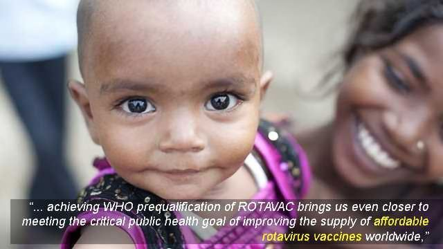 Rotavirus Vaccine Achieves World Health Organization Prequalification