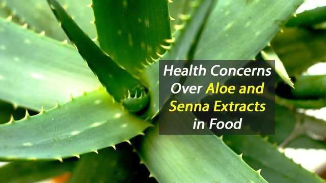 Health Concerns Over Aloe and Senna Extracts in Food