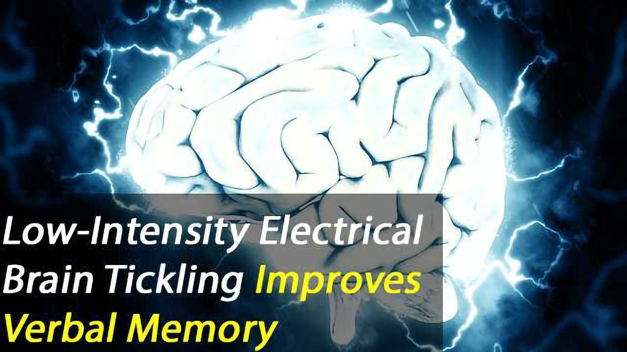Tickling the Brain: Research shows low-intensity electrical stimulation improves verbal memory