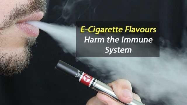 E-cigarette Flavors Toxic to White Blood Cells