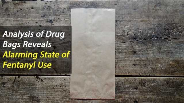 Analyzing Street Drug 'Stamp Bags' Points to Potential Early Warning System in Opioid Crisis