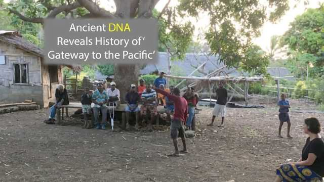 History of the 'Gateway to the Pacific' Revealed by Genetic Research
