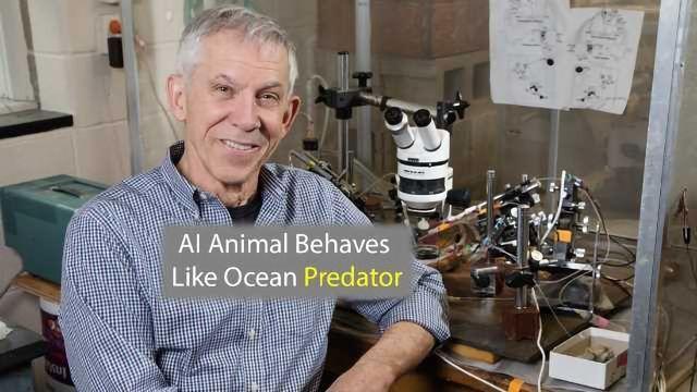 AI Animal is Modeled on Ocean Predator