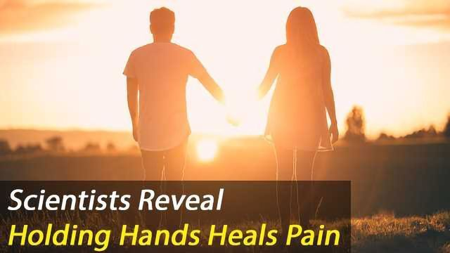 Holding Hands Eases Pain and Syncs Brainwaves