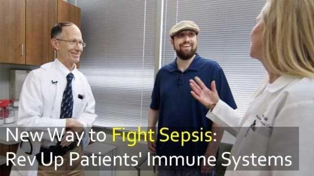 Fighting Sepsis: Drug 'Revs Up' the Immune System