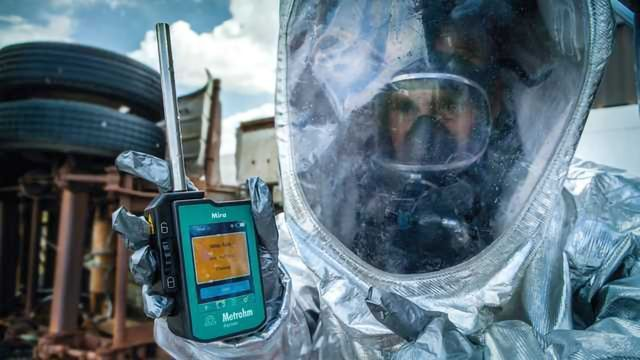 Metrohm Releases the Mira DS - a New Handheld Material Identification System for First Responders