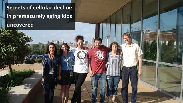 New Causes of Cellular Decline in Prematurely Aging Kids Discovered
