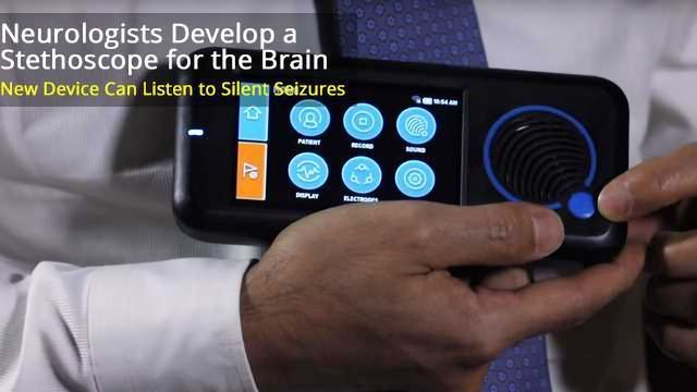 Brain Stethoscope Hears Silent Seizures