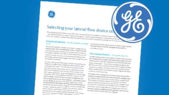 How to Select Your Lateral Flow Device Components