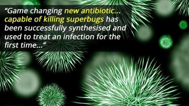 Synthesised Antibiotic Capable of Treating Superbugs