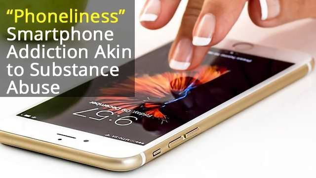 Smartphone Addiction Akin to Substance Abuse