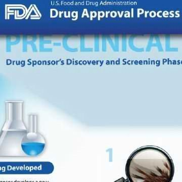 FDA Drug Approval Process Infographic | Technology Networks
